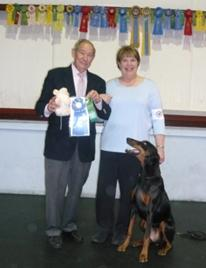 Another AKC Obedience Blue Ribbon for Fortunate K9.  Offering dog training in New Hampshire, Massachusetts and Maine
